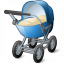 Elektro Pioneer – remotely controlled motorized baby stroller